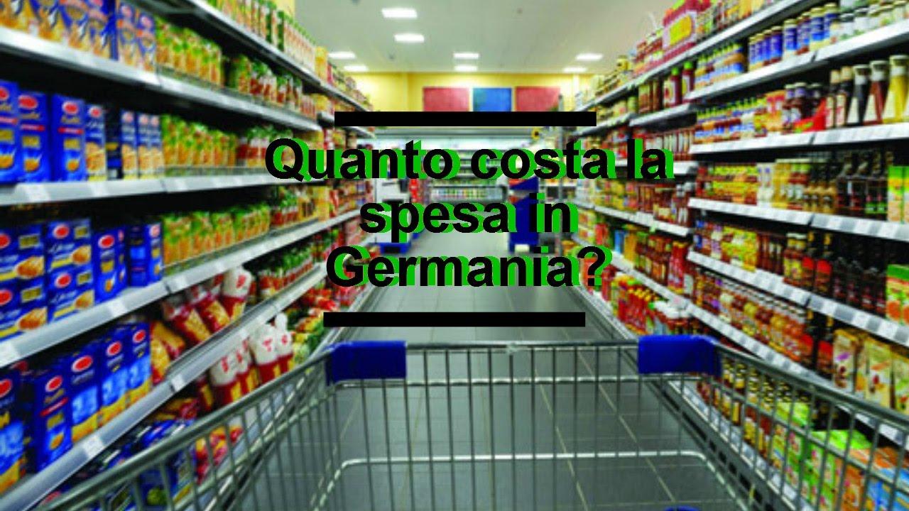 Quanto costa la spesa in GERMANIA? #1 Kaufland - YouTube