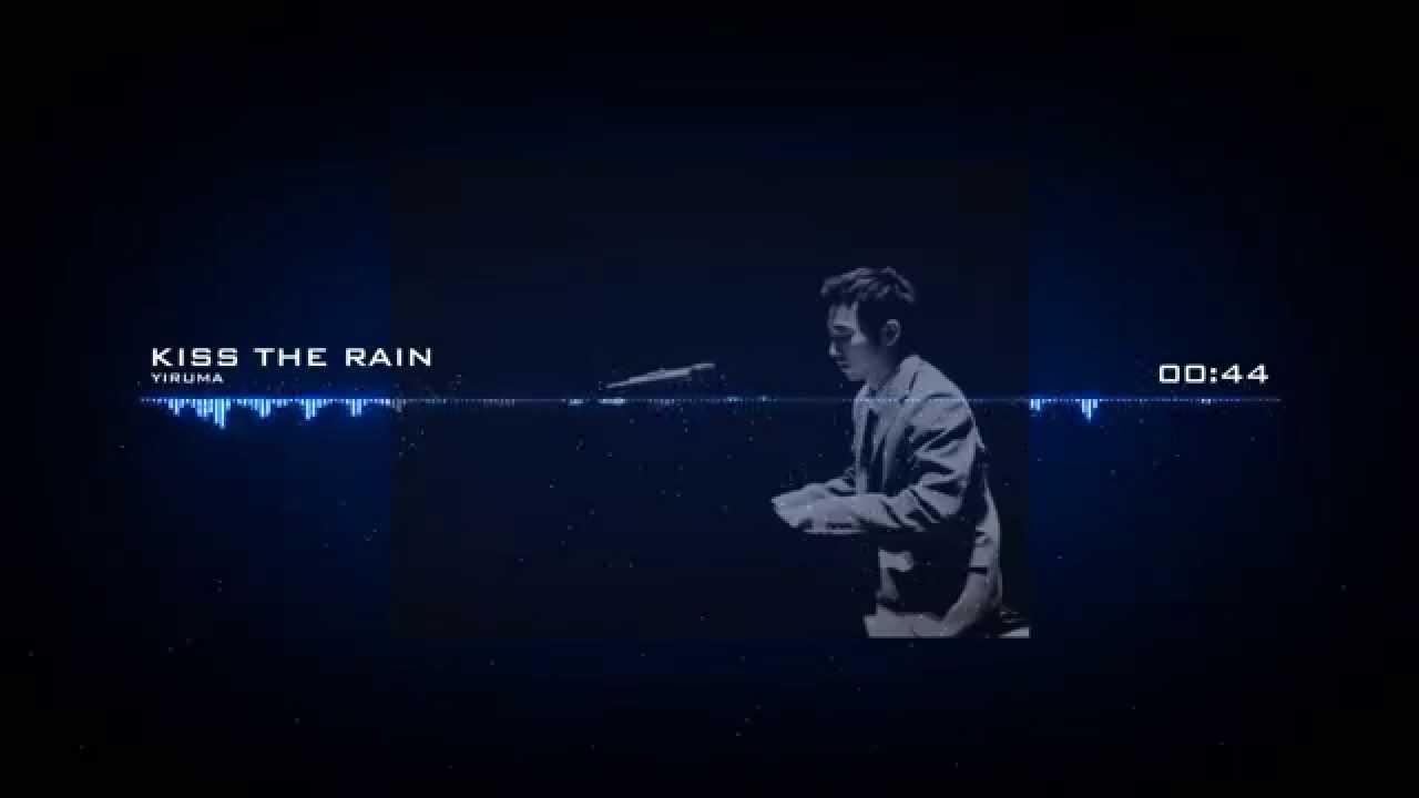 Kiss The Rain (Piano + Rain Sound) - Yiruma [ Audio Visualizer Creator]