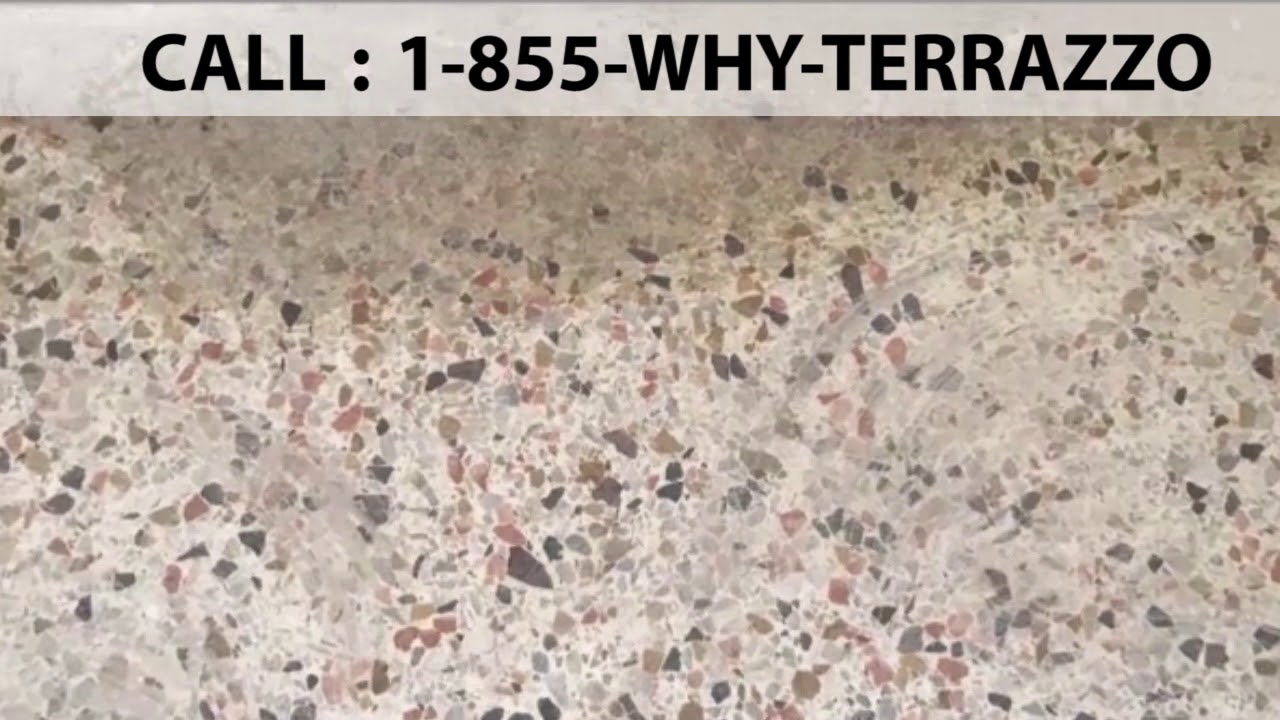 The Best Terrazzo Flooring Installers In Miami Fl Youtube