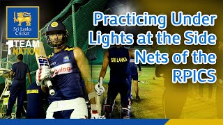 Coach Mickey Arthur Impressed by the facilities at the Side Net