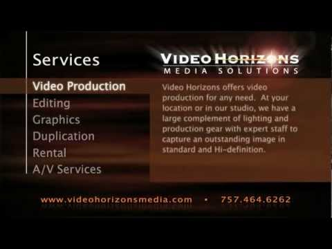 Video production, TV commercials, web video, training videos