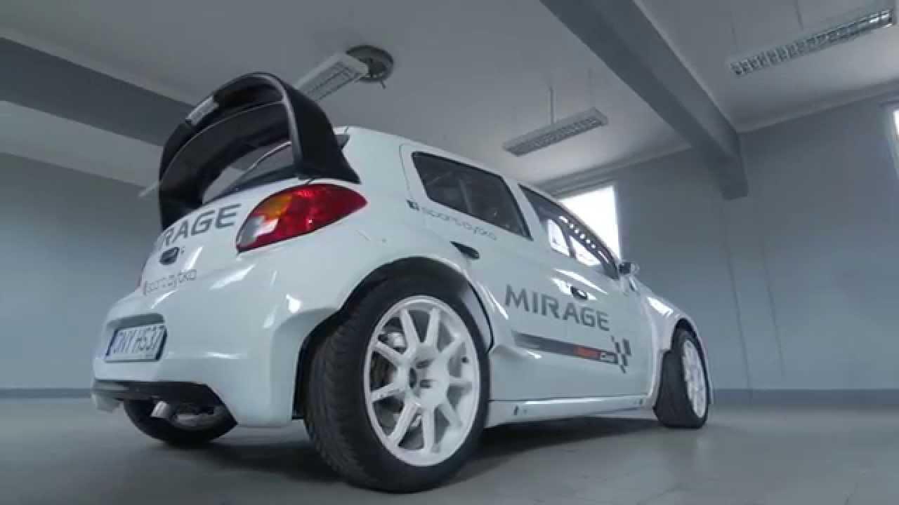 New Mitsubishi Mirage Proto - YouTube