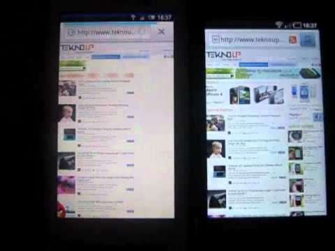 Browser Fight: Galaxy S (Froyo) vs Xperia X10