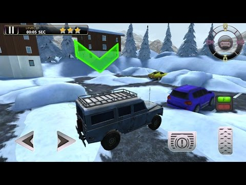 3D Winter Parking - eXtreme Snowmobile & Truck Driving Simulator Racing Games GamePlay Trailer