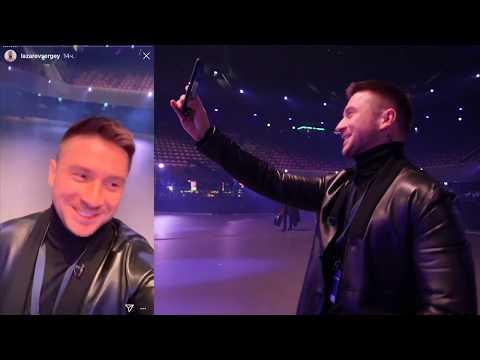 Сергей Лазарев - мини-фильм о поездке в Амстердам на шоу