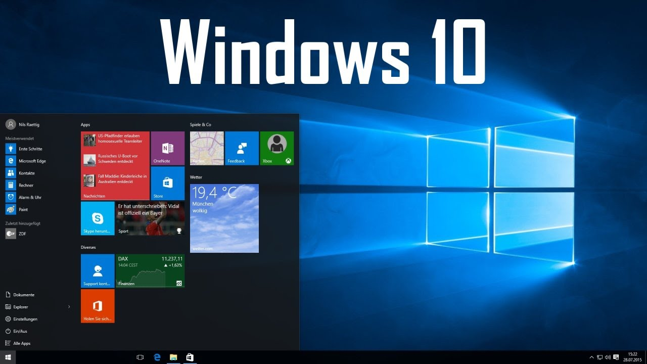 Windows 10 Desktop Wechseln
