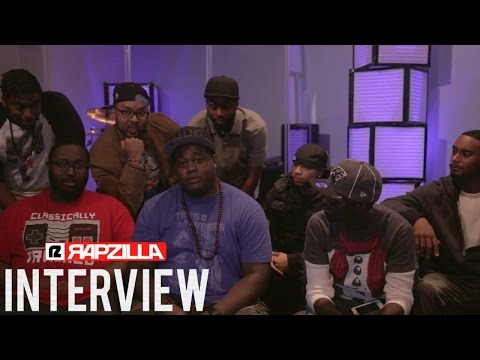 JustHis League Interview (@justhisleague @rapzilla)