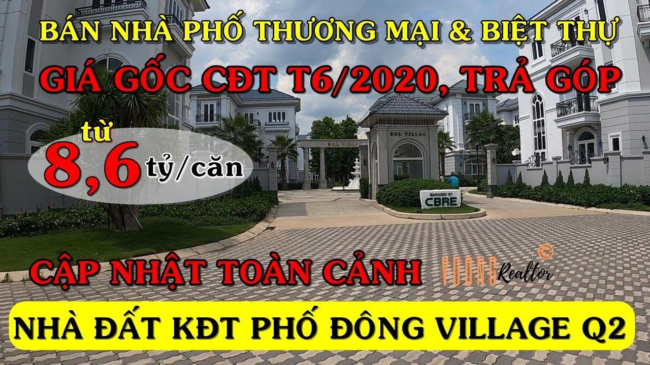 Bán Nhà Phố, Biệt Thự PhoDong Village, Sol Villas 2020 • Nhà Đất Quận 2 ★ Vuong Realtor