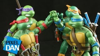 Playmates Teenage Mutant Ninja Turtles Classic Collection Figure Review