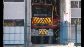 pompier gros depart
