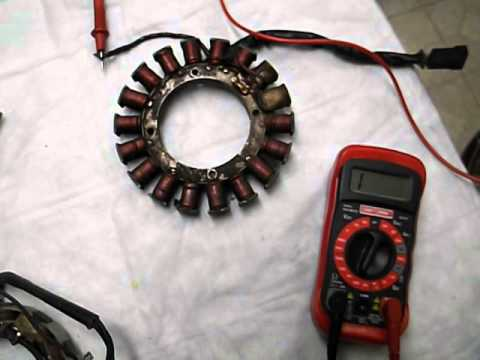 wheel horse wiring diagram 220v hot tub how to test your 10 and 20 amp tecumseh stator alternator charger - youtube