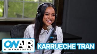 Karrueche Tran Talks Future With Ex Chris Brown | On Air with Ryan Seacrest