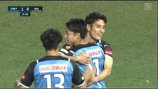川崎F・小林悠が開始3分で先制ゴール|J1第20節川崎Fv仙台|2021