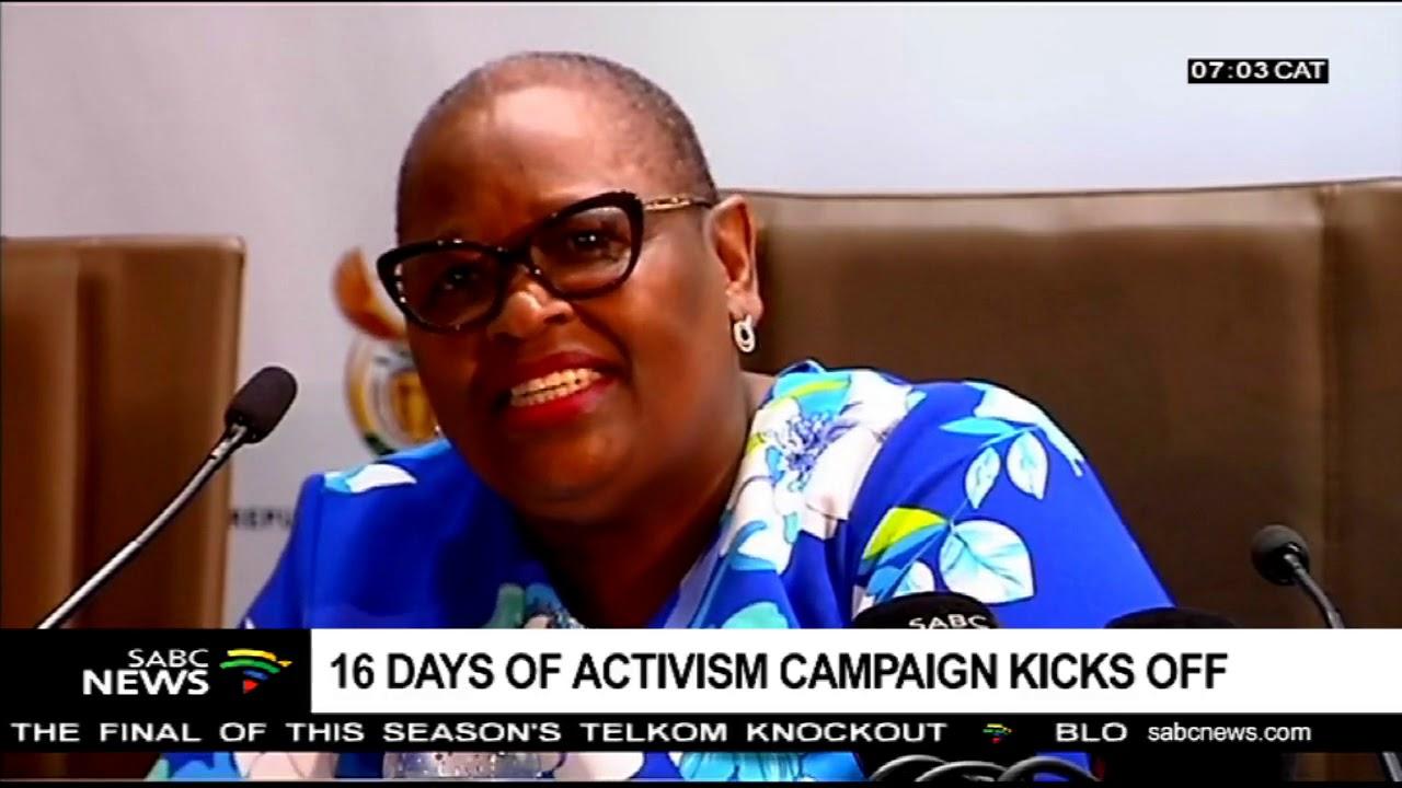 16 Days of Activism kicks off