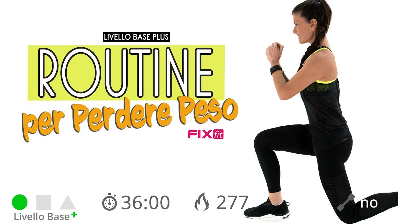 video fitness per dimagrire