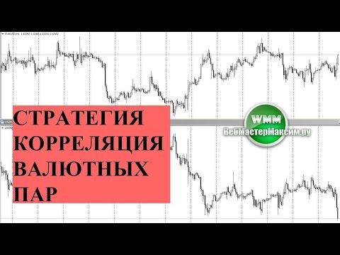 Стратегия корреляции валютных пар на форекс