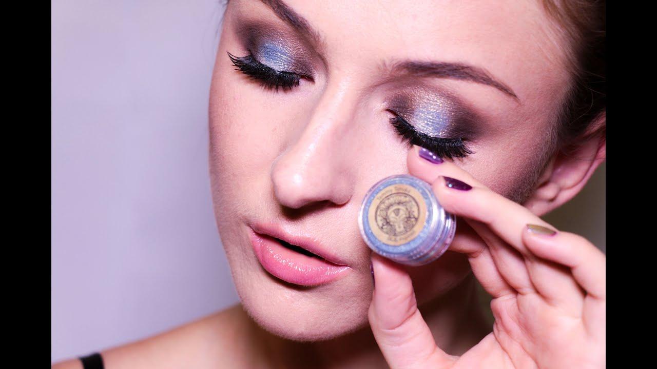 Яркий вечерний макияж с пигментом Тамми Танука