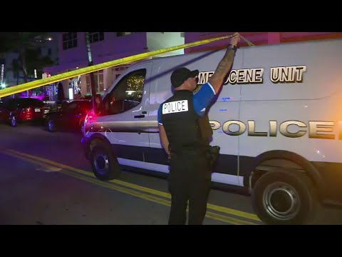Police say tourist was shot after he attacked woman in Miami Beach
