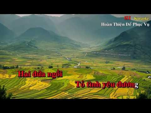 Hương Tóc Mạ Non Karaoke  Sanh Hoàng -