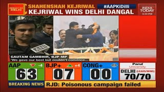 Delhi Election Results: Watch BJP Leaders Reacting To Delhi Defeat