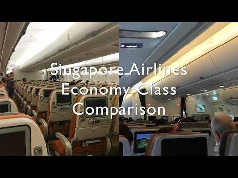 Singapore Airlines Economy Class | OLD VS NEW COMPARISON!