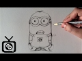 How To Draw  Minions - Step by Step