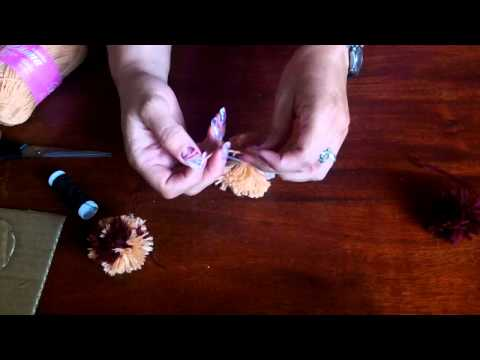 Como hacer pompones youtube - Como hacer pompones ...