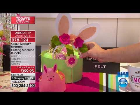 HSN   Cricut Crafting featuring Anna Griffin 10.03.2017 - 12 AM
