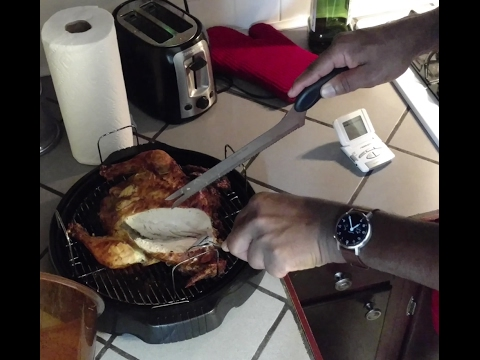 How To Cook A Whole Chicken Nuwave Oven Recipe Youtube