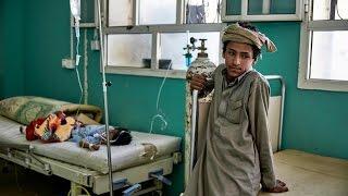 ظهور اصابات بوباء الكوليرا في اليمن بحسب اليونيسيف