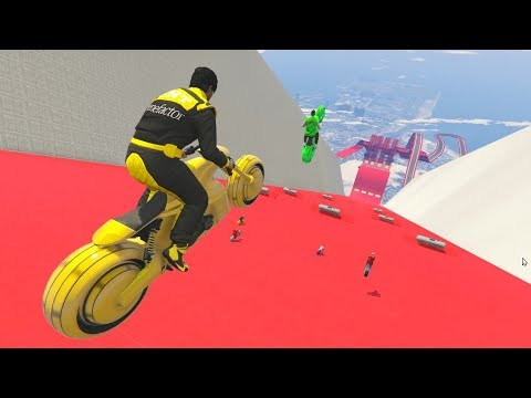 BIKE SHOOT OF DEATH! - GTA 5 Funny Moments #727