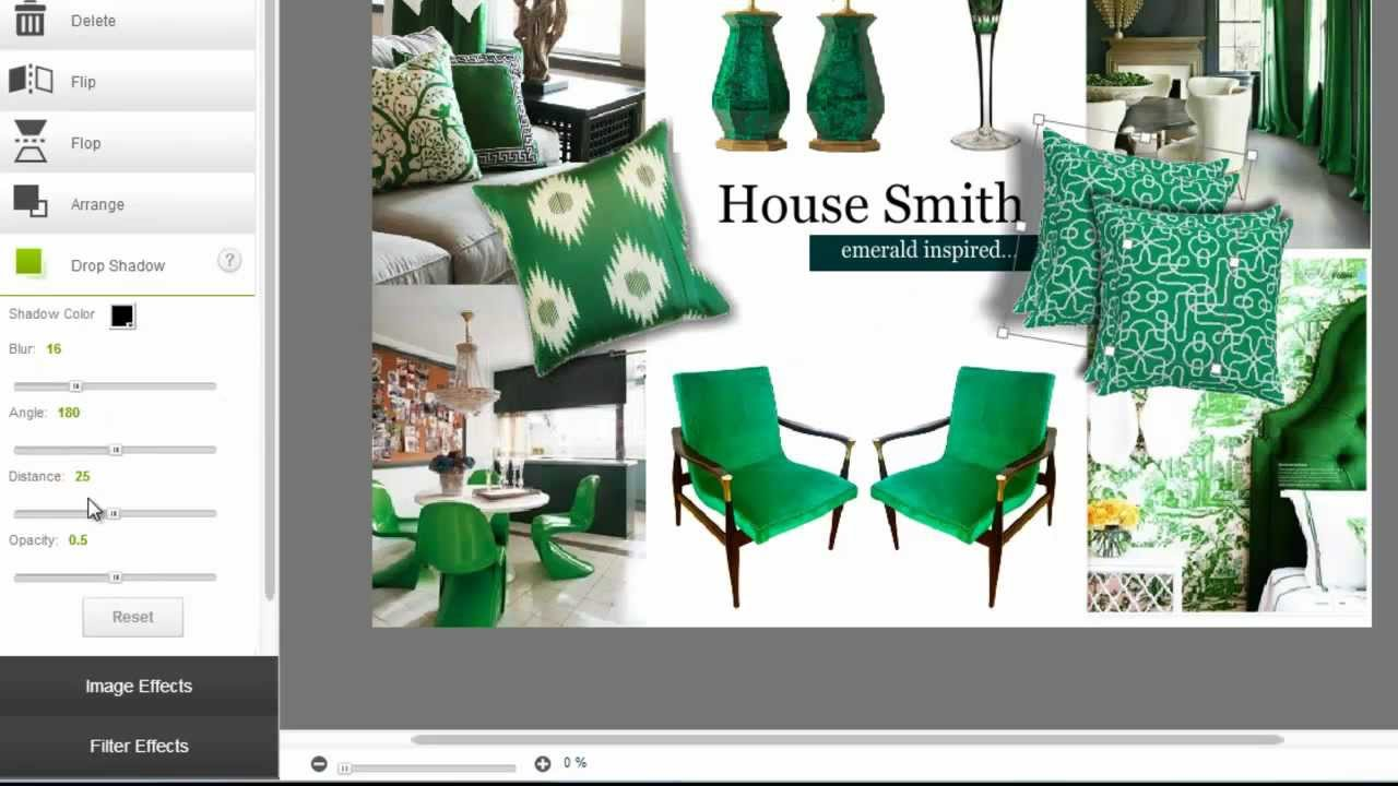 How to create an Interior Design mood board in minutes - YouTube