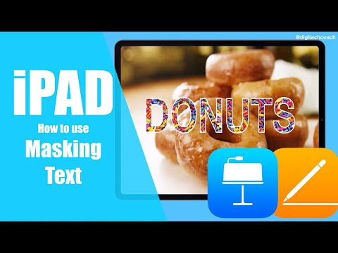 How to Mask Text In Keynote & Pages