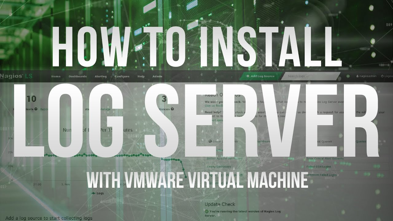 How to install Nagios Log Server virtual machine on Windows using VMware - Dauer: 2 Minuten, 13 Sekunden
