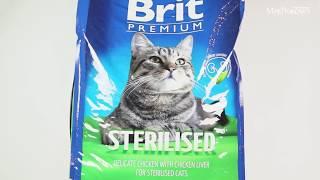 Обзор корма Brit Premium для стерилизованных кошек