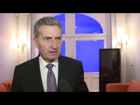 BusinessEurope Day 2015 - Interview of Commissionner Günther H. Oettinger