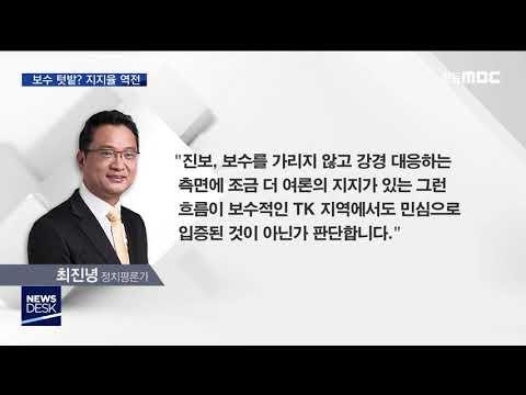 대구 맞나? 민주당, 한국당 지지율 역전 / 안동MBC