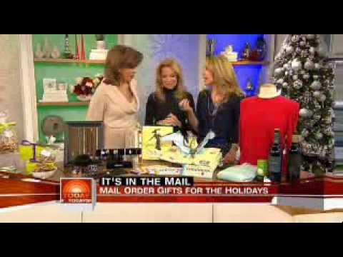 Alison Deyette on NBC's Today Show with holiday gifts ...