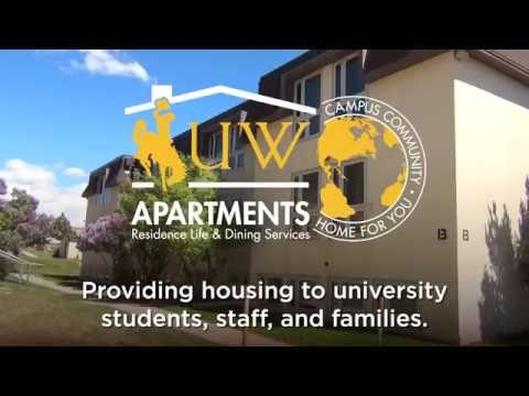 Take a Tour of the University of Wyoming Spanish Walk Apartments!