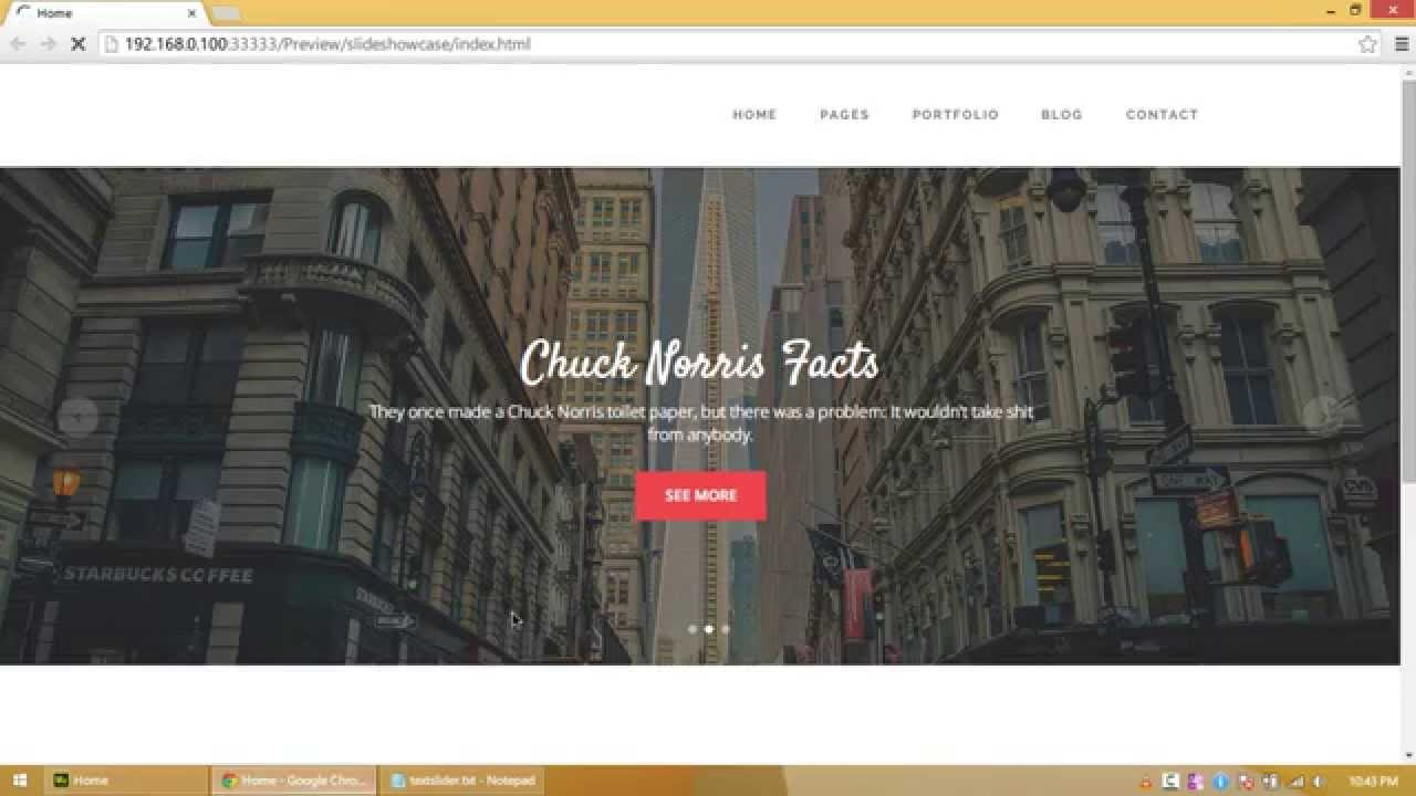 Awesome 100% Width Slideshow with Custom Triggers in Adobe Muse