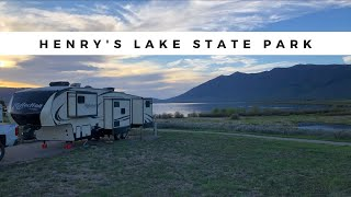 Henry's Lake State Pąrk in Island Park, Idaho || Campground Review