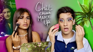 CHIT CHAT MAKE UP: vol de sac, police, vacances...