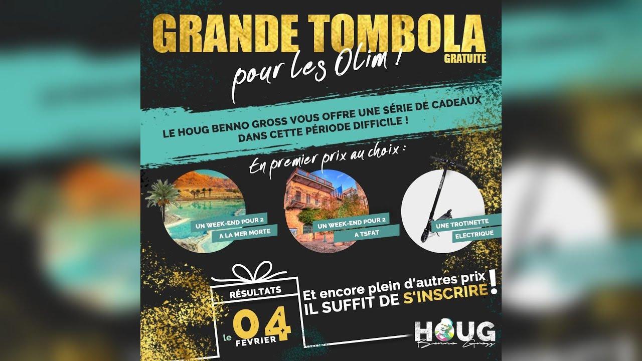 Tombola réservée aux olim francophones - Focus#413