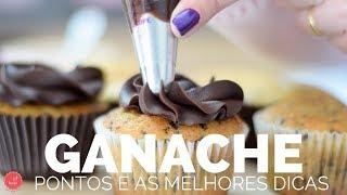 GANACHE - As formas mais gostosas de usar e como alterar pontos/texturas 🍫 BELLARIA CHOCOLATIER