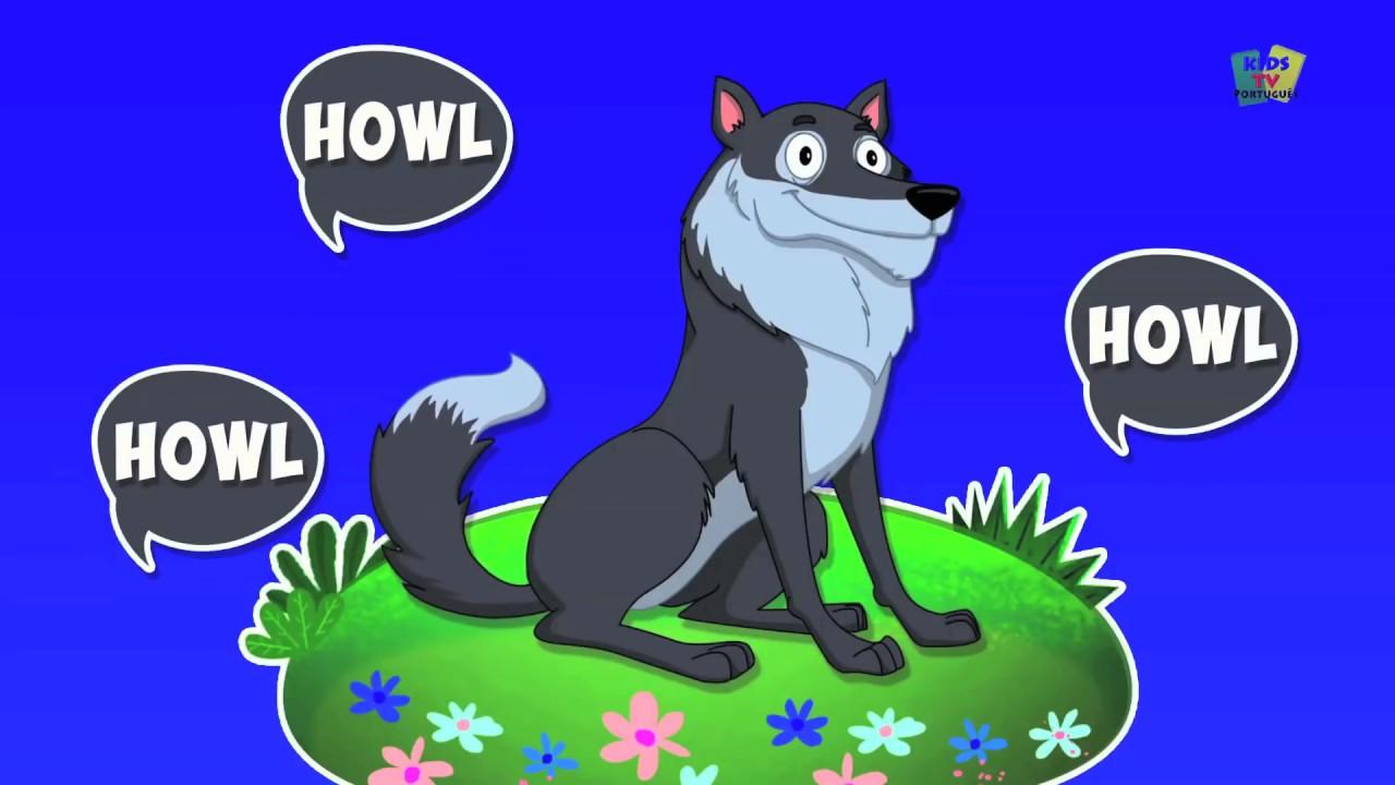sons de animais   aprender sons de animais em português   Animal Sounds Song #1