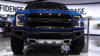 Detroit 2016: Ford Raptor 2017