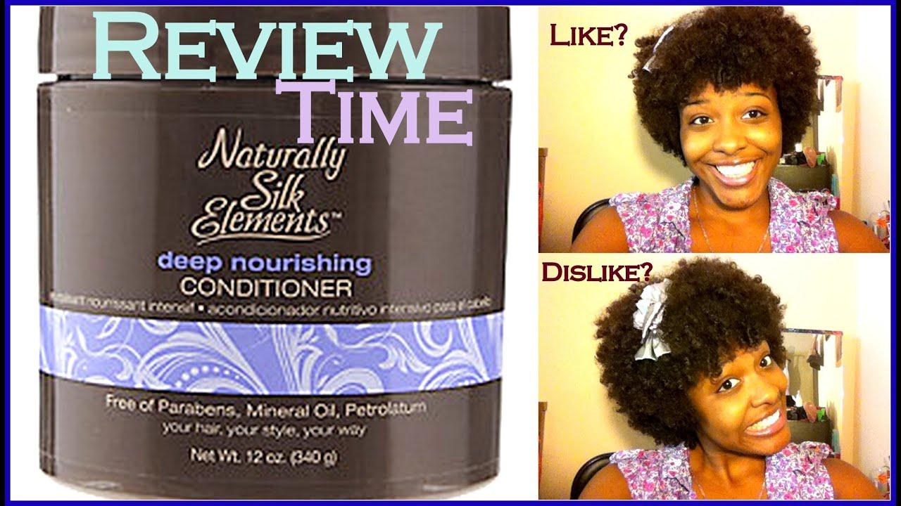 Review Natural Hair Ft Naturally Silk Elements Deep