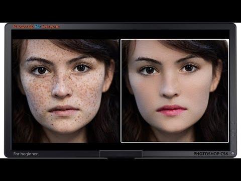 Photoshop CS6: Xử lý da mặt ảnh chân dung (skin retouch)