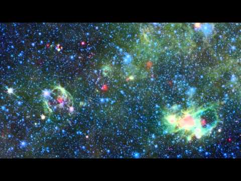 Milky Way Galaxy As Seen By Gallery Explorer (ESA) vs Spitzer (NASA) in HD