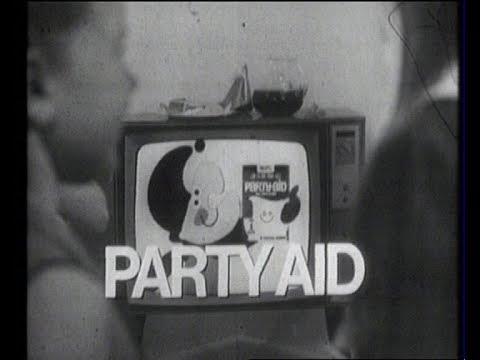 PARTY AID (Classic Australian TV Commercial) - 1960's